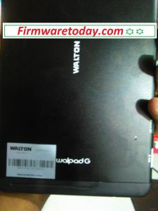 Walton Walpad G official firmware 2000%Tested By Firmwaretoday.com