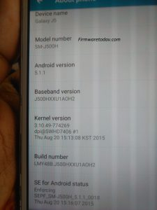 SAMSUNG J5 SM-J500H OFFICIAL FIRMWARE 3rd VERSION 5.1.1 UPDATE 20000%TESTED BY FIRMWARETODAY.COM