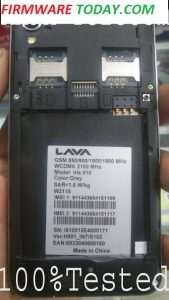 LAVA IRIS 510 OFFICIAL FIRMWARE NEW UPDATE 100% FREE MT6572 4.4.2 2000%TESTED BY FIRMWARETODAY.COM