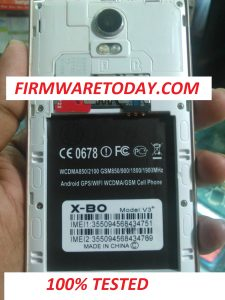 SONY X-BO V3+ OFFICIAL FIRMWARE WITHOUT