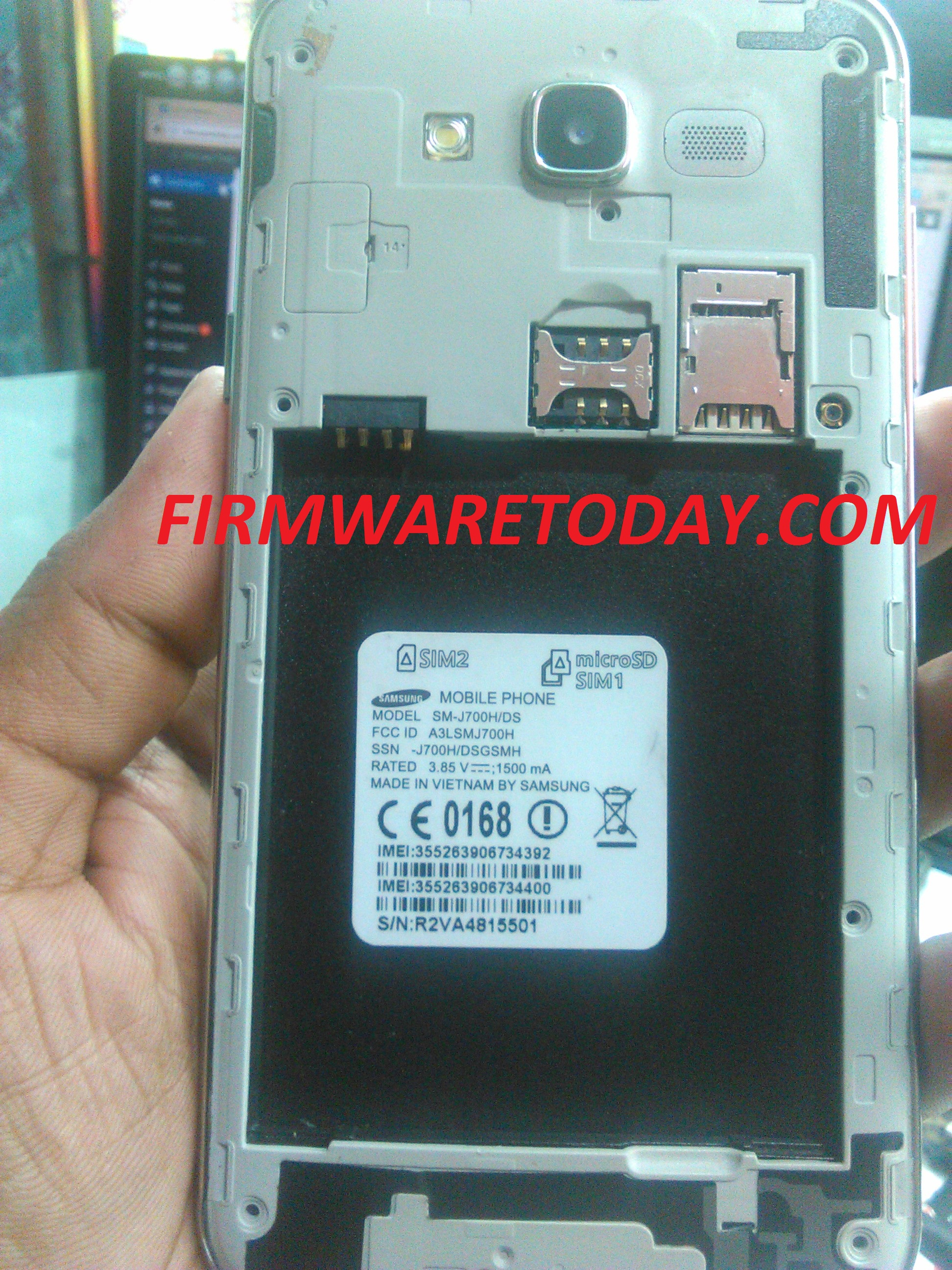 SAMSUNG GALAXY J7 SM-J700H/DS OFFICIAL FIRMWARE MT6589 OR MT6583 (3rd version) 2000% tested by firmwaretoday.com