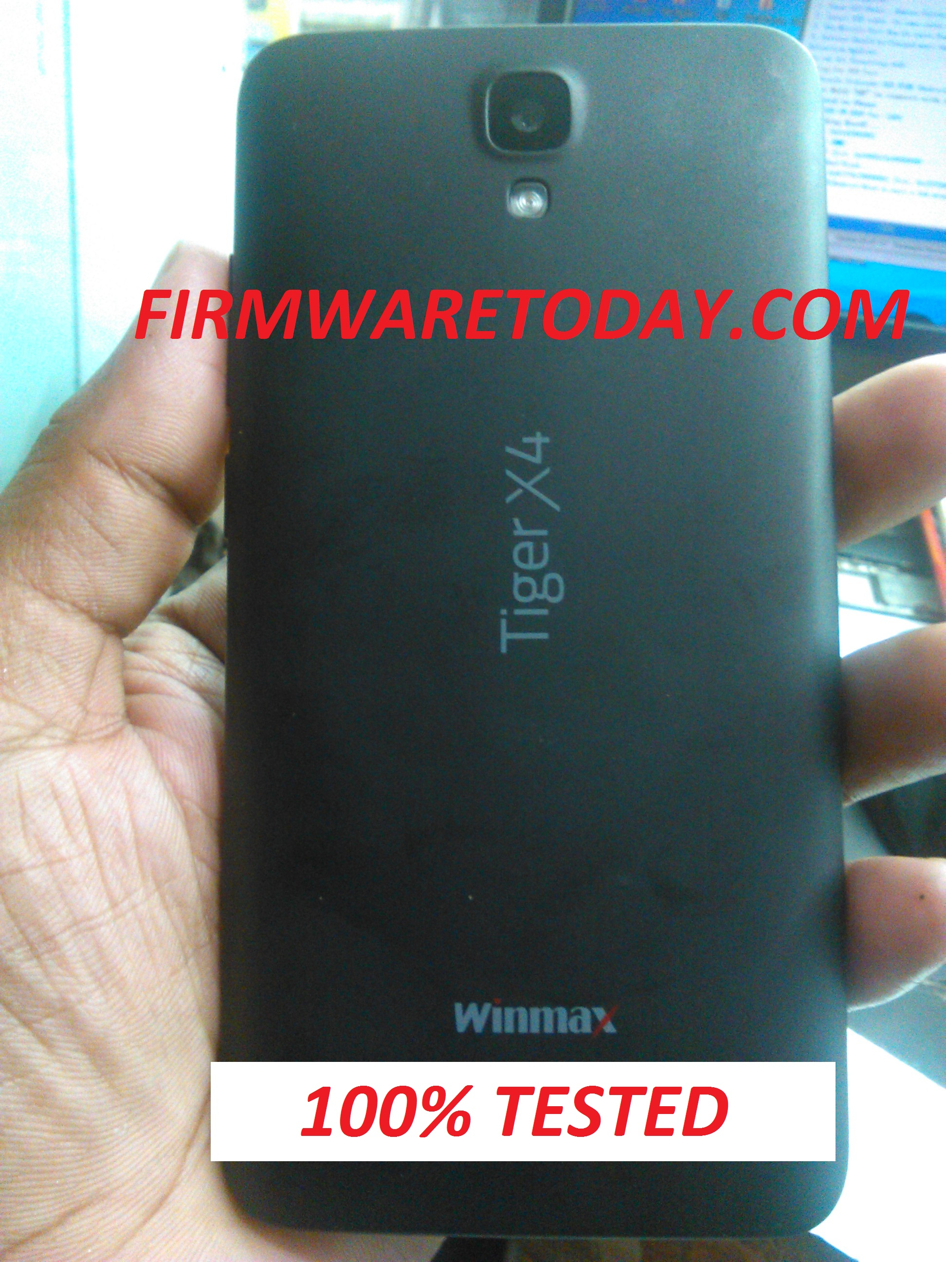 WINMAX Tiger X4 official firmware Free 2nd Update (MT6580) 1000% tested by firmwaretoday.com