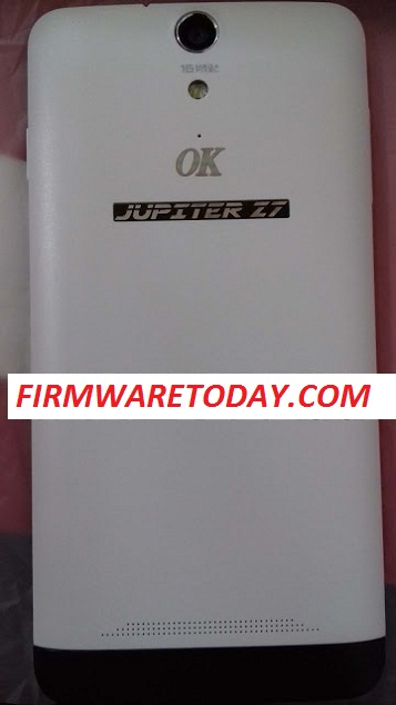 OK MOBILE JUPITER Z7 OFFICIAL FIRMWARE FREE 2ndUPDATE ( MT6592) 100% TESTED BY FIRMWARE TODAY.COM