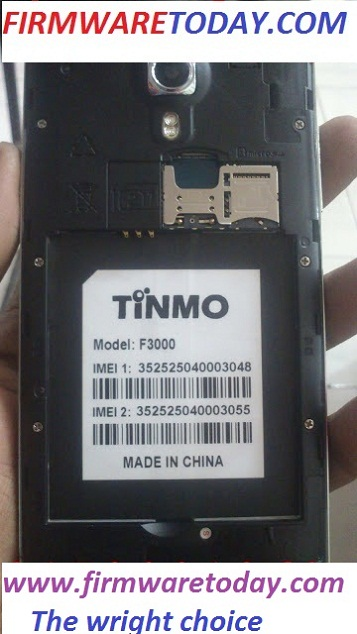 TINMO F3000 OFFICIAL FIRMWARE UPDATE 4.4.2 WITHOUT PASS (MT6582) 2000%TESTED BY FIRMWARETO DAY.COM