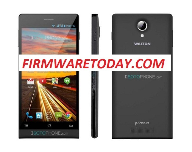 WALTON PRIMO V1 OFFICIAL FIRMWARE WITHOUT PASS(MT6592) 4.2.2 F 100% TESTED BYFIRMWARETODAY.COM