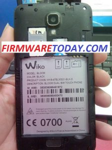 WIKO BLOOM OFFICIAL FIRMWARE UPDATE 4.4.2 (MT6582) 2000% TESTED BY FIRMWARETODAY.COM