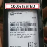 Micromax E313 Flash File 3rd version FREE ( MT6592) 2000% tested by firmwaretoday.com