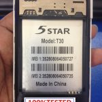 5STAR T30 FLASH FILE FREE WHITH OUT PASS UPDATE (MT6572) 1000% TESTED BY FIRMWARETODAY.COM