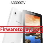 Lenovo A3300GV Official Firmware Free Update (MTK6582) 100%Tested