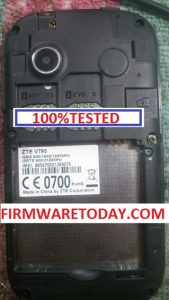 ZTE V795 OFFICIAL FIRMWARE UPDATE VERSION (MT6572)1000% TESTED BY FIRMWARETODAY.COM