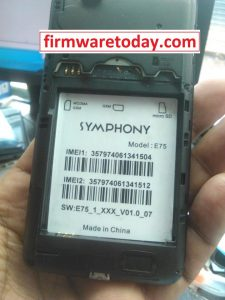 SYMPHONY E75 FLASH FILE FREE( SPD7715) 2000% TESTED BY FIRMWARETODAY.COM