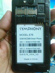 SYMPHONY E76 FLASH FILE FREE UPDATE VERSION (E76_XXX_V2 -MT6572) 2000% TESTED BY FIRMWARETODAY.COM