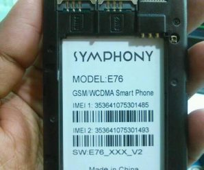 SYMPHONY E76 FLASH FILE FREE UPDATE VERSION (E76_XXX_V2 -MT6572) 2000% TESTED BY FIRMWARETODAY.COM