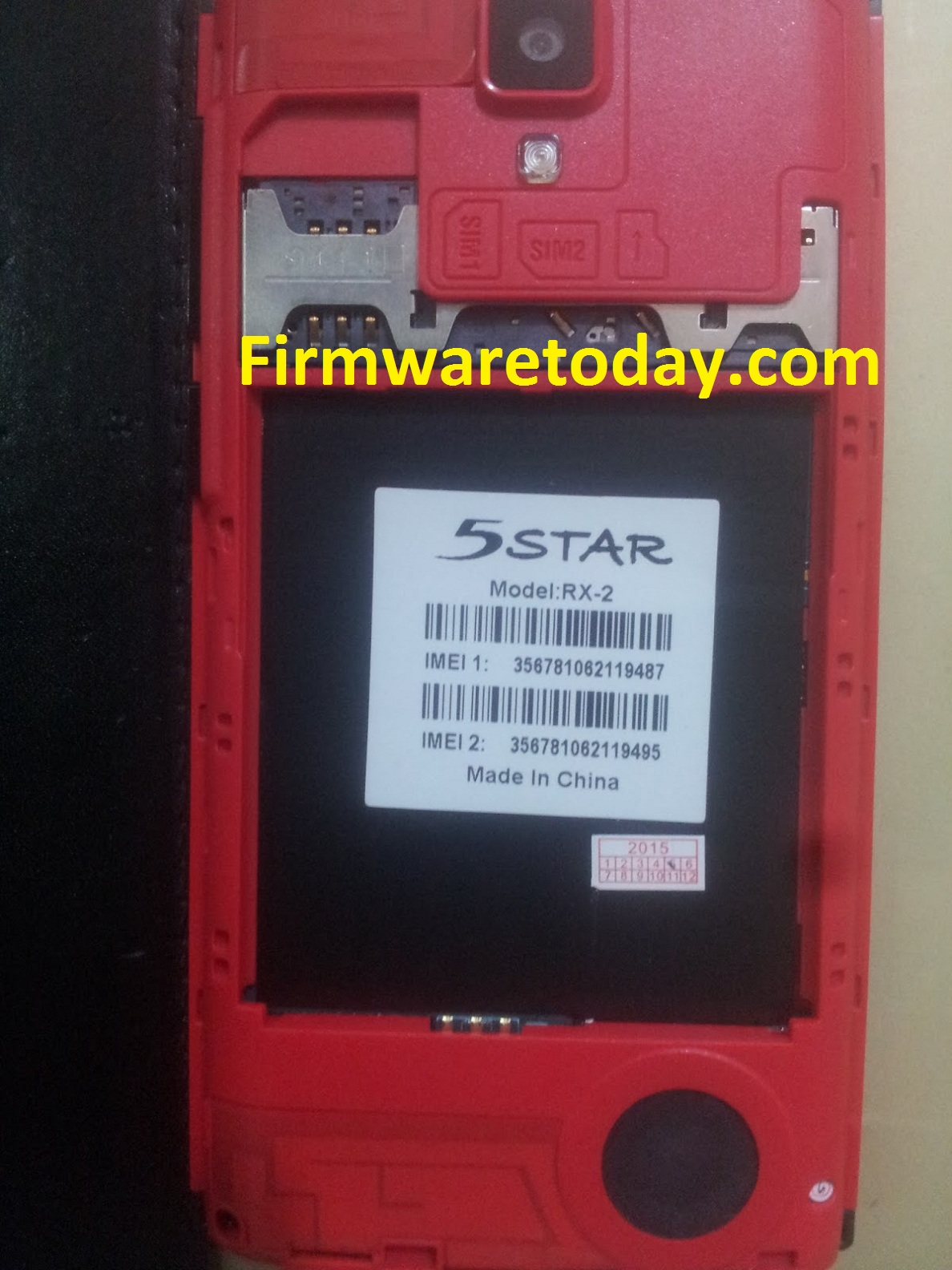 5Star RX2 F;ash File Free Firmware Update V1.20.1(MT6572) 100%Tested