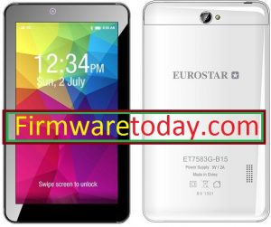 EUROSTAR ET7583G-B15 MT6572 Firmware