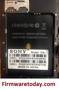 Sony X-BO V9+ Flash File Free Firmware New Update (MT6572) Tested