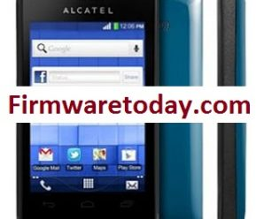 Alcatel One Touch 4007X Flash File Free Firmware Update 100%Tested