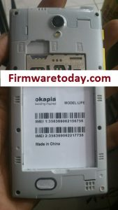 Okapia Life Flash File Free Firmware (MT6572) 100% tested