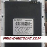 G-TiDE V6 Flash File Free Firmware Stock Rom 100% Work