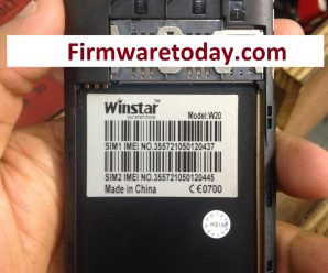 Winstar W20 Flash File Free Firmware Update 100% Tested
