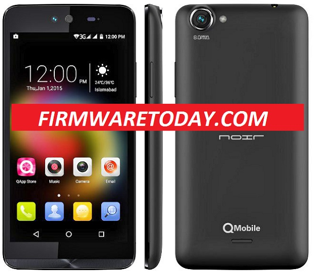 Qmobile Noir X100 V2 Flash File Free Firmware Update(MTK6582) 100% Tested