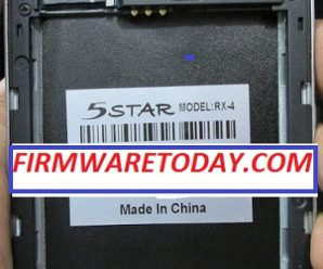 5STAR RX 4 Flash File Free Update Official Firmware (Mtk6582) 2000% Tested