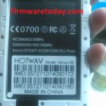 HOTWAV Venus X8 Flash File Stock Rom Firmware 2nd Update