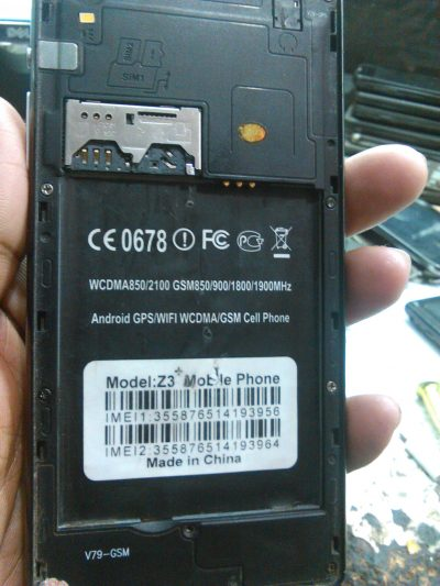 CMX Z3+ Flash File  Free Stock Rom Firmware (MT6572) Update