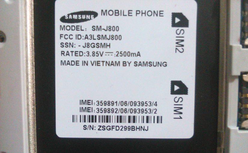 SAMSUNG SM-J800 Fash File (MT6572) Stock Rom Firmware