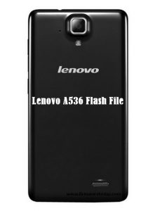 Lenovo A536 Flash File