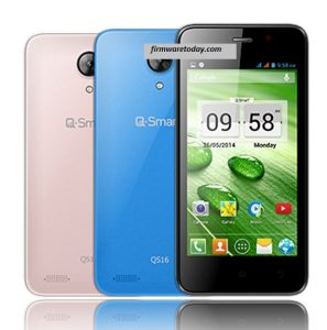 QMobile Q Smart QS16 Flash file Stock Rom Firmware