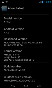 E Pad A728J Flash File Stock Rom Firmware (MTK6572) 4.4.2- 1000% Tested By Firmwaretody.com