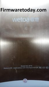 Wetoa W7S Flash File Stock Rom Firmware Update