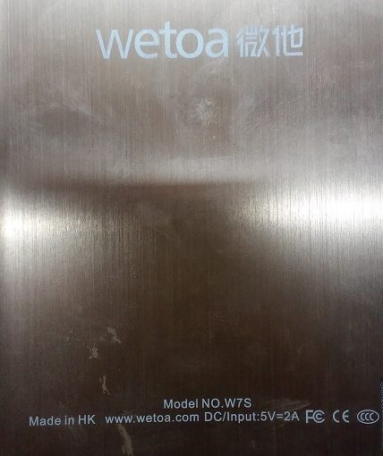 Wetoa W7S Flash File Stock Rom Firmware Update