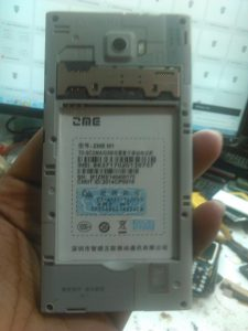 ZME M1 Flash File Stock Rom Firmware (MT6572)