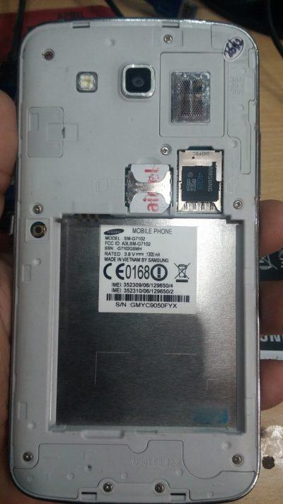 SAMSUNG SM-G7102 MT6582 Free Flash File Stock Rom Firmware