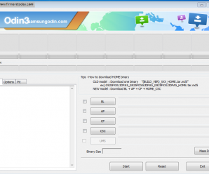 Odin Download and Firmware Update Process