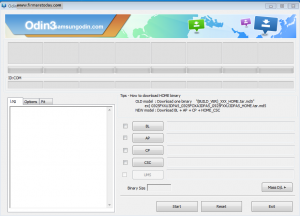 Samsung Odin Download and Firmware Update Process