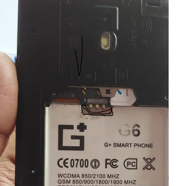G Plus G6 flash file firmware Stock ROM (MT6572)