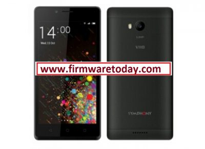 Symphony V110 flash file firmware stock ROM