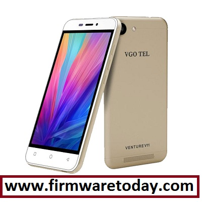 VGO tel venture 11 MT6580 flash file firmware stock ROM