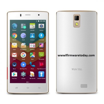 VGOTEL Venture V8 MT6580 flash file 7.0 firmware stock ROM