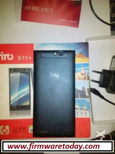 HIRO S11+ MT6572 flash file stock ROM firmware