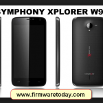 symphony v95 flash file stock firmware Rom
