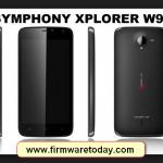 symphony v95 flash file stock firmware Rom