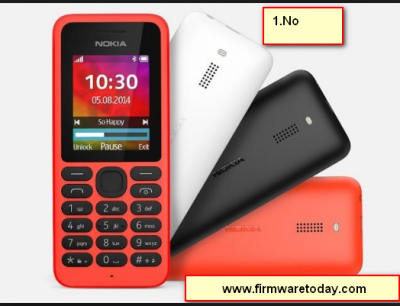 Nokia 130 RM-1035 flash file V 10.01.11 latest firmware