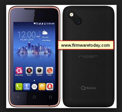 Qmobile X32 V2 MT6580 flash file firmware stock Rom