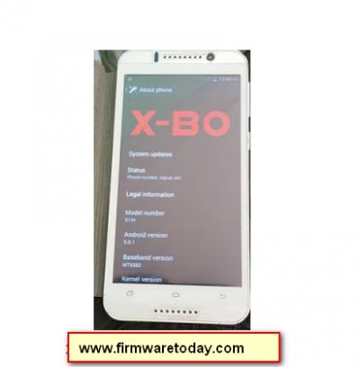X-BO X13+ Plus MT6572 firmware flash file srock Rom