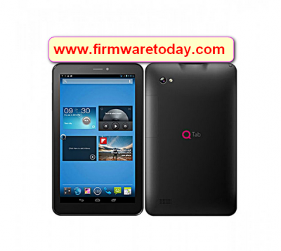 QTab Q100 MT6582 firmware flash file Update