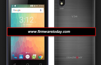Symphony V34 flash file firmware stock Rom 100% Tested Free